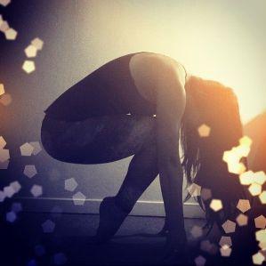 Yoga Sparkle from Pinterest
